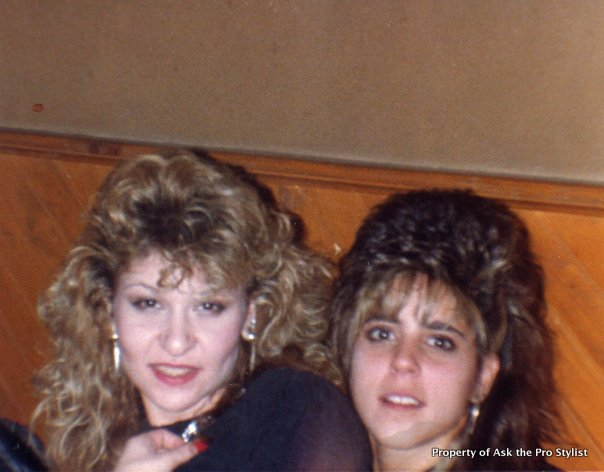 80s hair: Time to find a new hairstyle