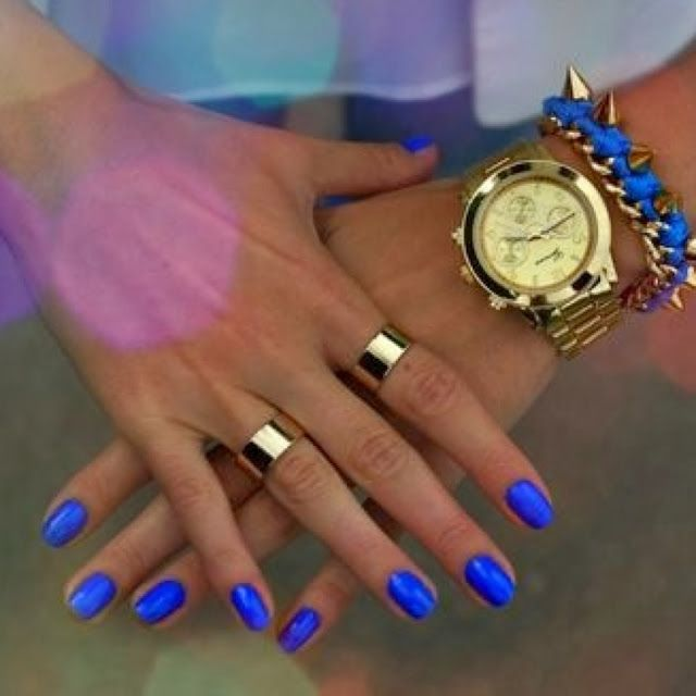 Labor Day Nail Art for End of Summer Nails