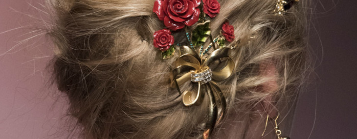 Three Prom and Wedding Hairstyles from Fashion Week: Photos