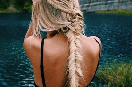 Summer Braid: Get the Steps for a Messy, Sexy Fishtail Braid