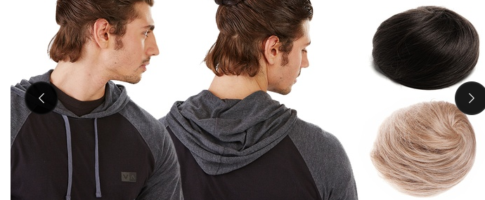 Man Bun Alternative For Man Bun Baldness