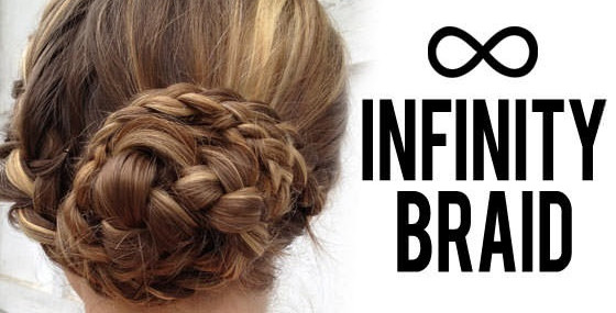 Infinity Braid How-To, Perfect for New Year's Eve