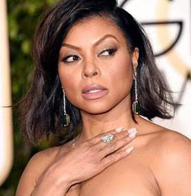 Taraji P. Henson and Her Winning Golden Globe Makeup