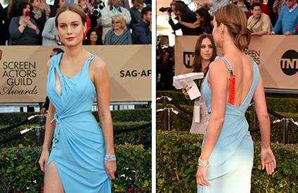 Brie Larson: Get the Sexy SAG Look