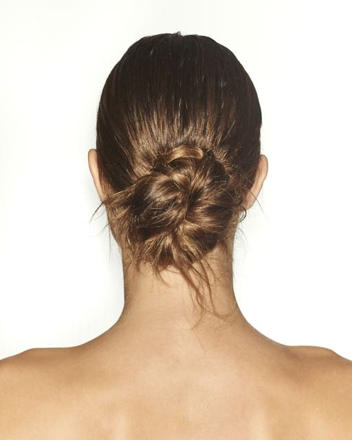 New Year's Eve Hairstyle: Get the Sexy, Messy Bun