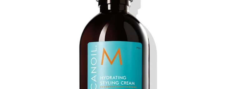 Moroccanoil Hydrating Styling Cream Fights Frizz For All Hair Types