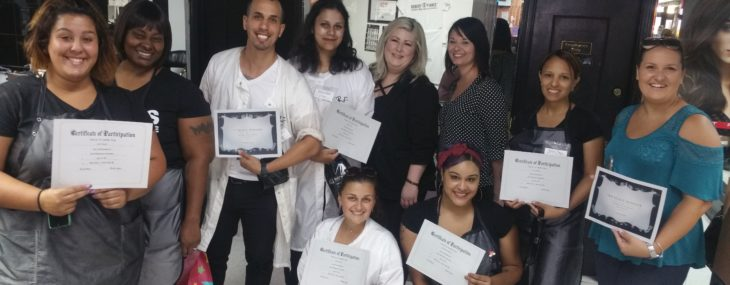 Beauty Student Hair Competitions Take Off Thanks To Sassoon Salon Job Site