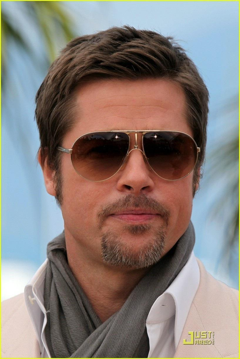 brad pitt: men's hairstyles for round faces. - ask the pro stylist